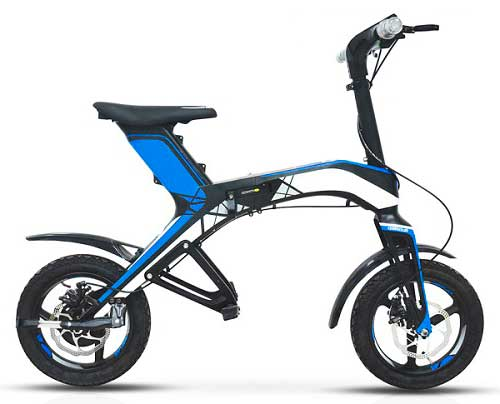bici electrica china plegable