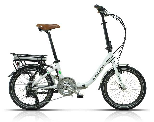 bicicleta plegable megamo chip 30